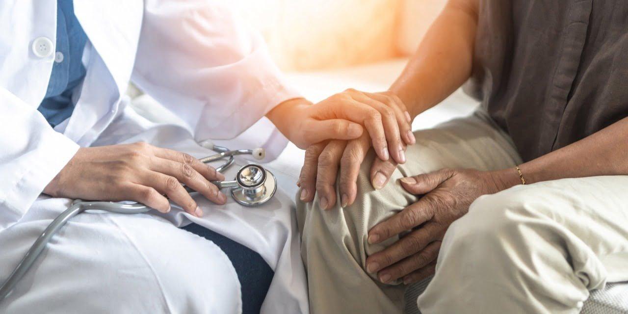 doutora e paciente
