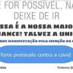 Comunicado - FORTE PROTOCOLO CONTRA COVID