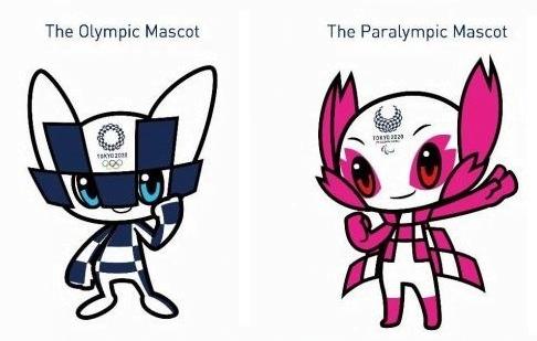 Mascotes olímpiadas e paralimpiadas