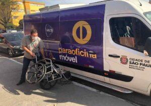 Oficina de reparos cadeiras de rodas