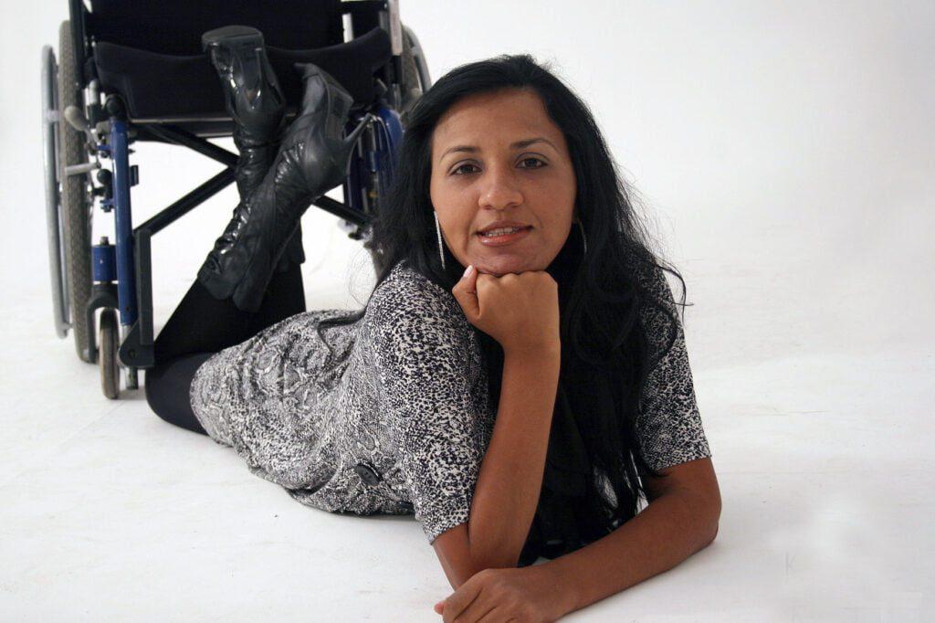 Anny Souza tetrapplegica
