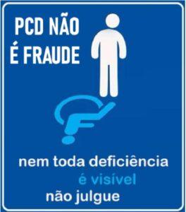 PcD não é fraude