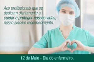Dia do profissional da Enfermagem