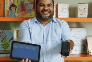 HEYDE LEÃO desenvolveu ferramenta para facilitar a leitura de crianças cegas e de baixa visão