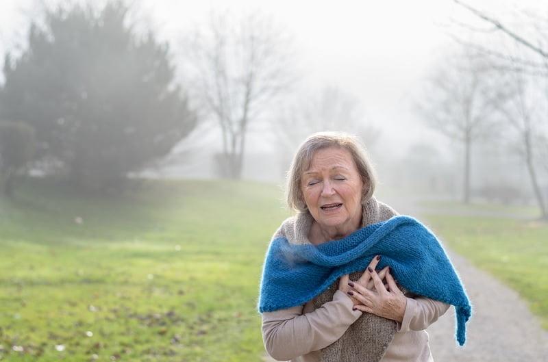 Possibilidade de ter um infarto é maior no inverno