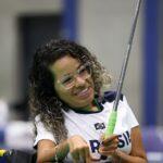 jogadora de bocha Evelyn de Oliveira