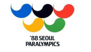 Bandeira das Paralimpíada de Seul