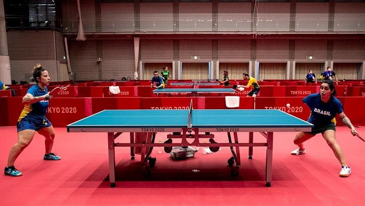 Atletas paralímpicos do Brasil fazem primeiro treino no Ginásio Metropolitano de Tóquio