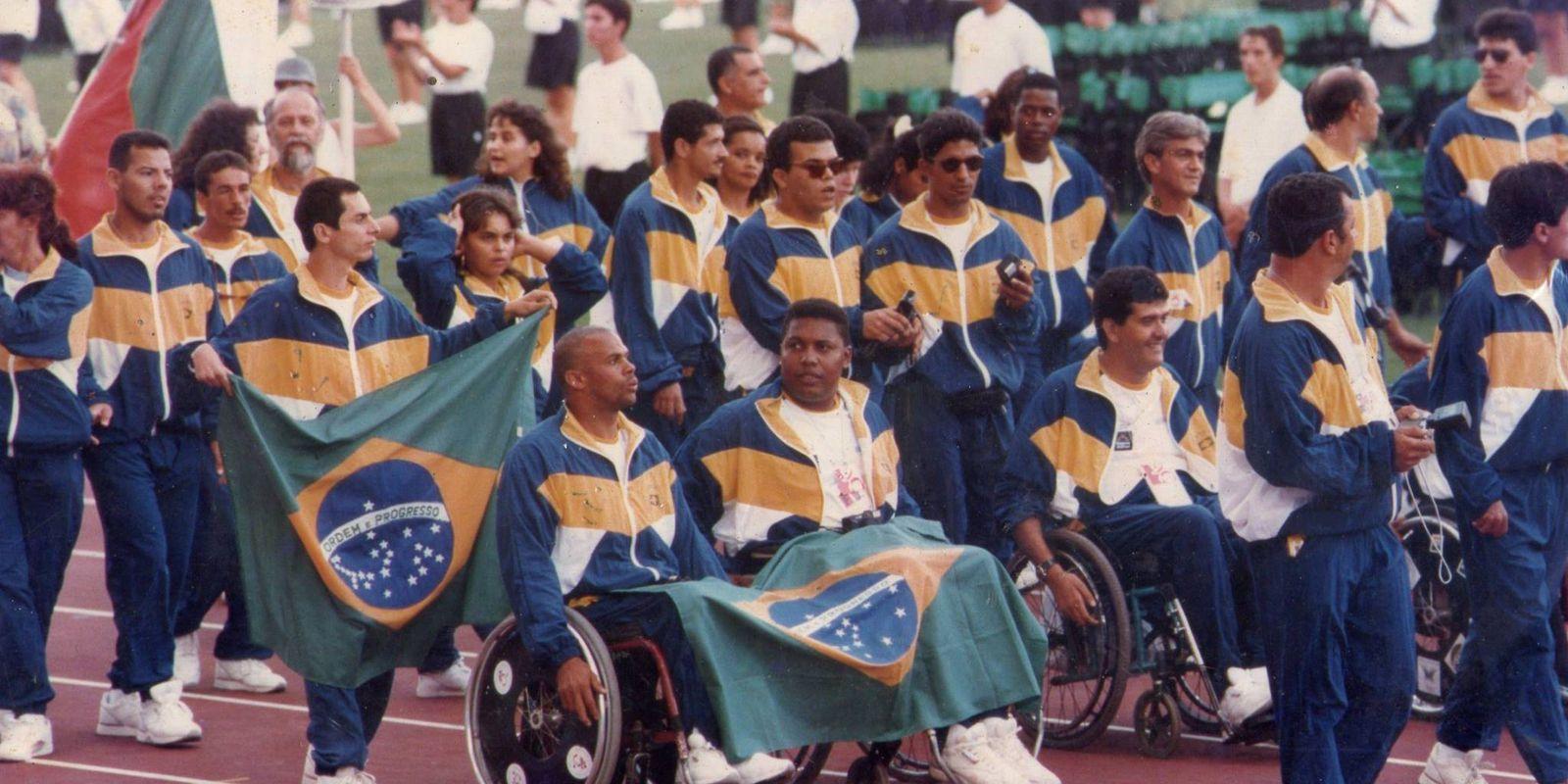 Atletas das Paralimpíadas