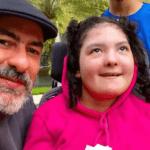 Henrique Fogaça e a filha Olivia