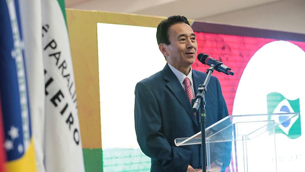 O prefeito de Hamamatsu, Yasutomo Suzuki, liberou, nesta quarta-feira, 18, os treinamentos dos atletas brasileiros isolados