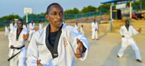 No taekwondo, a Equipe Paralímpica conta com o talento de Parfait Hakizimana, que nasceu no Burundi e agora vive em um acampamento para refugiados em Ruanda