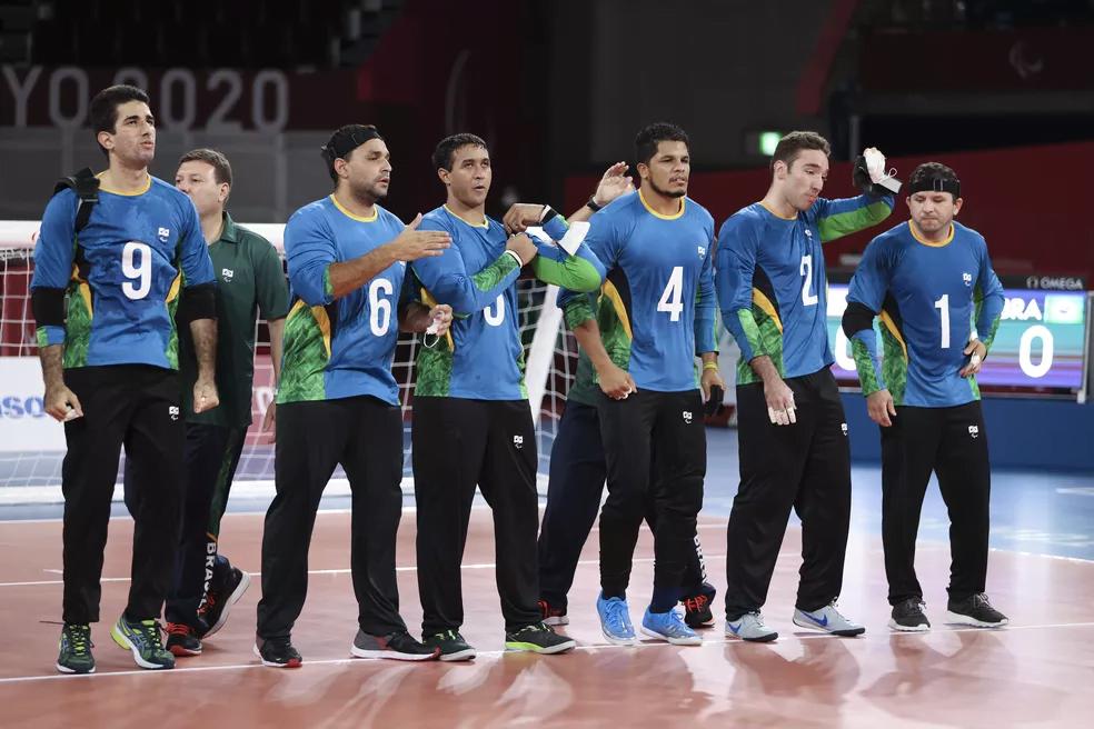 Seleção brasileira masculina de goalball , Paralimpíadas de Tóquio 2020